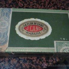 Cajas de Puros: CAJA PUROS LA FLOR DE CANO. Lote 32413882