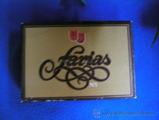 Cajas de Puros: CAJA ANTIGUA DE PUROS FARIAS Nº 1 RELLENA DE 14 PUROS VARIADOS CON SUS VITOLAS - Foto 6 - 35472995