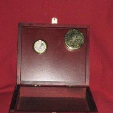 Cajas de Puros: CAJA PARA PUROS EN MADERA COLOR CAOBA - 20X17X5 CM. Lote 53511487