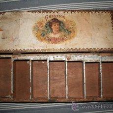 Cajas de Puros: CAJA DE PUROS NUEVA GERONA. Lote 36427248