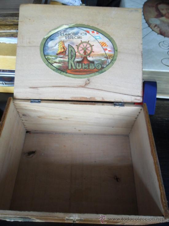 Cajas de Puros: CAJA DE PUROS RUMBO DE MADERA 50 CORONAS - Foto 7 - 36634734