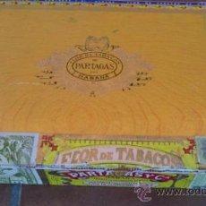 Cajas de Puros: CAJA DE PUROS FLOR DE TABACOS DEPARTAGAS VISTAS INTERIOR. Lote 37044024