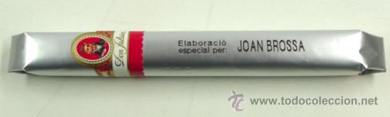 PURO DON JULIÁN ELABORACIÓN ESPECIAL PARA JOAN BROSSA. (Coleccionismo - Objetos para Fumar - Cajas de Puros)