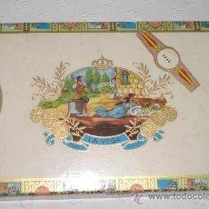 Cajas de Puros: CAJA DE PUROS LA VEGA. 24 CEDROS IMPERIALES. CIGARROS SELECTOS.. Lote 37421038