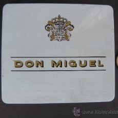 Cajas de Puros: CAJA DE LATA DE TABACO DON MIGUEL. CIGARRO PURO CANARIO. Lote 37891897