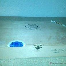 Cajas de Puros: CAJA DE PUROS FLOR DE TABACOS DE PARTAGAS. Lote 39306980