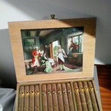 Cajas de Puros: TABACO - CAJA DE PUROS SUIZOS AÑOS 70 - PUROS DE SUIZA - SIN EXTRENAR.. Lote 39510372