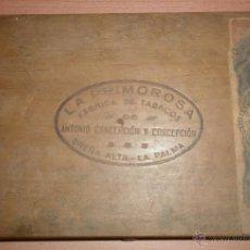 Cajas de Puros: VINTAGE - CAJA DE PUROS ANTIGUA VACÍA LA PRIMOROSA. Lote 39512986