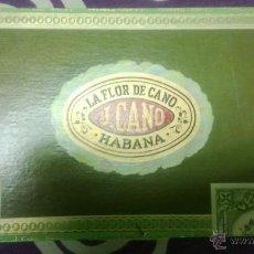 Cajas de Puros: CAJA DE PUROS LA FLOR DE CANO. Lote 39899928