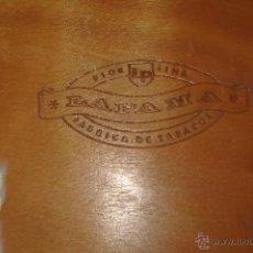Cajas de Puros: CAJA MADERA LA FAMA DE PUROS. Lote 40277898