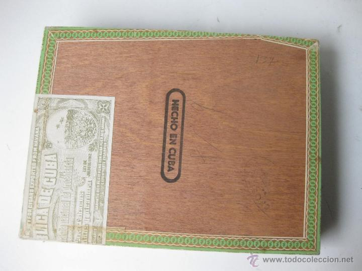 Cajas de Puros: CAJA DE PUROS DE LA FLOR DE CANO - HABANA - CUBA - Foto 3 - 42647201