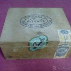 Cajas de Puros: CAJA DE PUROS RUMBO 50 REGALIAS. Lote 42935694