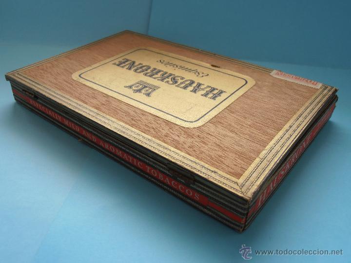 Cajas de Puros: Caja puros Hauskrone Julika Zigarren. Alemania. ¡Rara!. Vacía. Años 60`s #FV-R - Foto 3 - 43690602