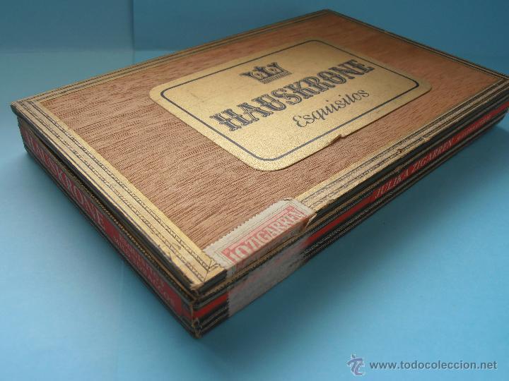 Cajas de Puros: Caja puros Hauskrone Julika Zigarren. Alemania. ¡Rara!. Vacía. Años 60`s #FV-R - Foto 5 - 43690602