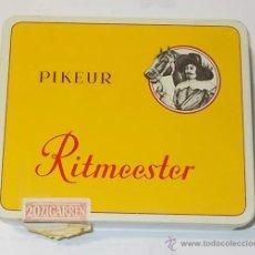Cajas de Puros: CAJA DE TABACO. PURO. PIKEUR RITMEESTER. HOLANDES. CONTIENE 6 PUROS. VER FOTO. Lote 43860868