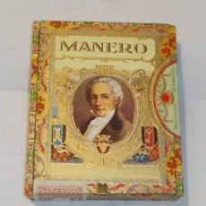 Cajas de Puros: CAJA DE PUROS CERRADA. MARCA MANERO. LITOGRAFIA. 20 PUROS.. Lote 43861060
