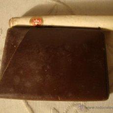 Cajas de Puros: ANTIGUA CARTERA PAQUETE DE TABACO CON SU TABACO DENTRO Y PURO. LOTCRE250. Lote 44791043