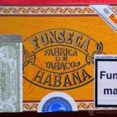Cajas de Puros: FONSECA - CUBA - HABANNA - CAJA VACIA DE MADERA PARA CIGARROS PURO. Lote 45525516
