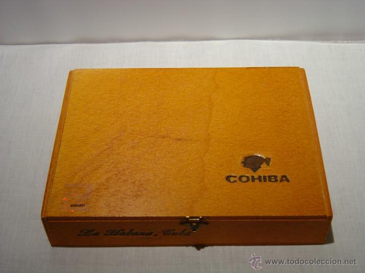 CAJA PUROS COHIBA ESPLÉNDIDOS (Coleccionismo - Objetos para Fumar - Cajas de Puros)