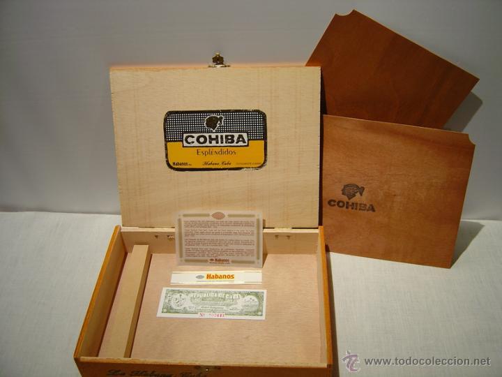 Cajas de Puros: CAJA PUROS COHIBA ESPLÉNDIDOS - Foto 3 - 45839140