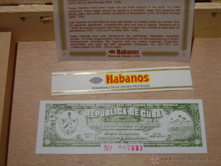 Cajas de Puros: CAJA PUROS COHIBA ESPLÉNDIDOS - Foto 5 - 45839140