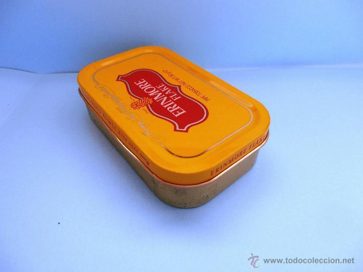 Cajas de Puros: Caja rectangular metálica Erinmore Flake. Murray Sons. Belfast. 1989 VACIA #FV-R - Foto 2 - 45928687