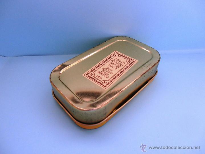 Cajas de Puros: Caja rectangular metálica Erinmore Flake. Murray Sons. Belfast. 1989 VACIA #FV-R - Foto 4 - 45928687