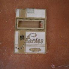 Cajas de Puros: PAQUETE TABACO PUROS VACIO FARIAS EXTRA. Lote 46305436