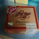 Cajas de Puros: CAJA PUROS FARIAS SUPERIORES CAJA DE MADERA CON HUMIDIFICADOR(LLENA SIN ABRIR). Lote 103863884