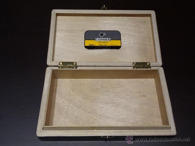 Cajas de Puros: CAJA PUROS HABANOS COHIBA - MADURO 5 - 25 SECRETOS - Foto 2 - 74356742