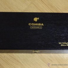 Cajas de Puros: CAJA PUROS HABANOS COHIBA - MADURO 5 - 25 MAGICOS. Lote 74356814