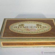 Cajas de Puros: CAJA DE PUROS RITMEESTER 25 HALF CORONA. Lote 46965156