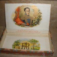 Cajas de Puros: CAJA DE PUROS CUBANOS BOLIVAR HABANA - VACIA -VER FOTOS ADICIONALES.. Lote 46982412