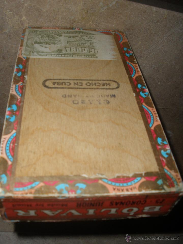 Cajas de Puros: CAJA DE PUROS CUBANOS BOLIVAR HABANA - VACIA -ver fotos adicionales. - Foto 3 - 46982412