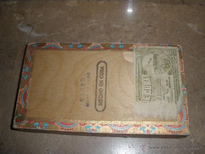 Cajas de Puros: CAJA DE PUROS CUBANOS BOLIVAR HABANA - VACIA -ver fotos adicionales. - Foto 4 - 46982412