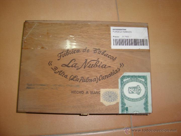 PUROS LA NUBIA CAJA SIN ABRIR (Coleccionismo - Objetos para Fumar - Cajas de Puros)