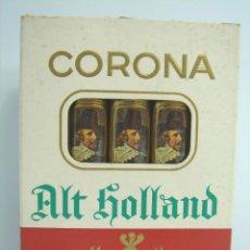 Cajas de Puros: ANTIGUO PAQUETE DE CIGARROS PUROS - 5 CORONA ALT HOLLAND ¡¡LLENO¡¡ CIGARES -SIN ADVERTENCIA TABACO. Lote 48730626