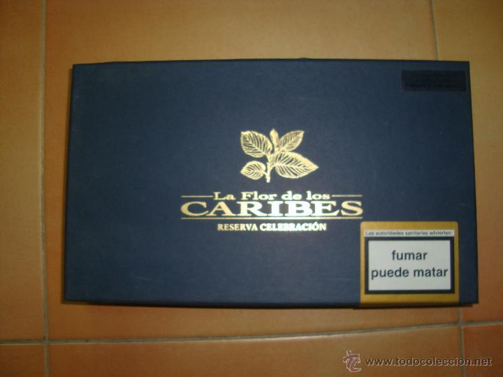 CAJA DE PUROS CARIBES (Coleccionismo - Objetos para Fumar - Cajas de Puros)