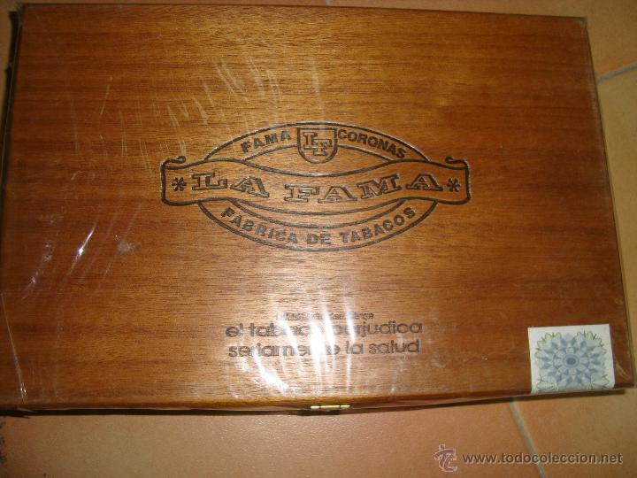 CAJA DE PUROS LA FAMA CORONAS (Coleccionismo - Objetos para Fumar - Cajas de Puros)
