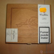 Cajas de Puros: CAJA DE PUROS DON JULIAN Nº5 -SIN ABRIR-. Lote 108236695