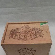 Cajas de Puros: CAJA VACIA DE MADERA DE PUROS FARIAS CENTENARIO. Lote 49797805