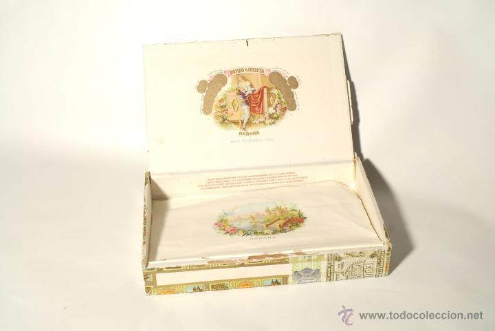 Cajas de Puros: Caja de Puros. Romeo y Julieta. Habana, Cuba. - Foto 3 - 49863830
