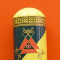 Cajas de Puros: MONTECRISTO JUNIOR - HABANA - CUBA - TUBO DE METAL PARA CIGARRO PURO. Lote 50044859