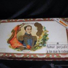 Cajas de Puros: CAJA DE PUROS VACÍA SIMÓN BOLIVAR HABANA CUBA. Lote 50394355