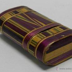 Cajas de Puros: PHILIPPINES ANTIGUA TABAQUERA REALIZADO EN EL SIGLO XVIII O XIX, DE FILIPINAS, ELABORADA MICRO-. Lote 51577442