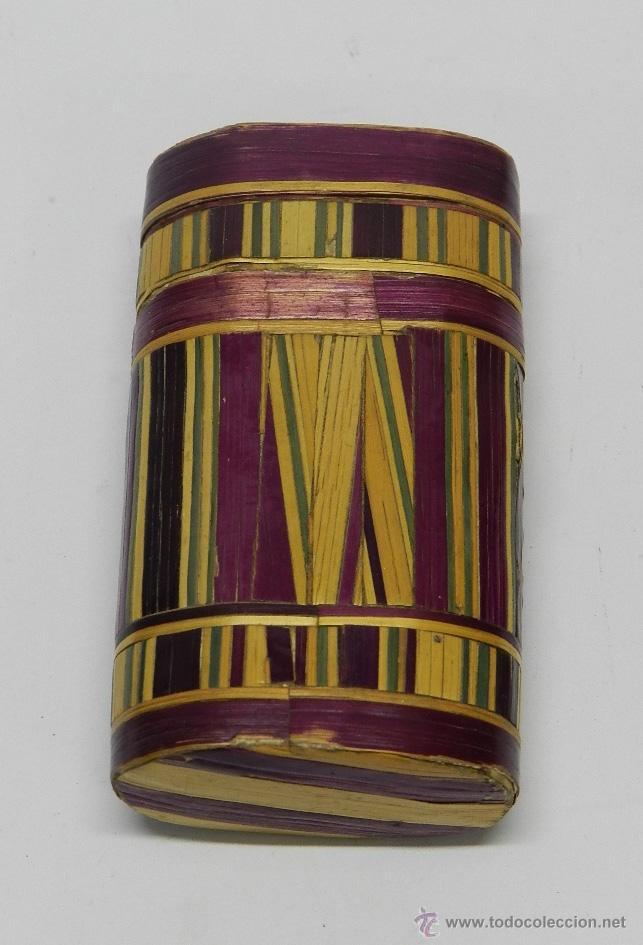 Cajas de Puros: PHILIPPINES ANTIGUA TABAQUERA REALIZADO EN EL SIGLO XVIII O XIX, DE FILIPINAS, ELABORADA MICRO- - Foto 2 - 51577442