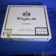 Cajas de Puros: CAJA DE PUROS CAPOTE. Lote 52946268