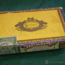 Cajas de Puros: ANTIGUA CAJA DE PUROS PARTAGAS - 25 HABANEROS. Lote 53147940