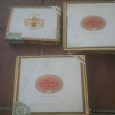 Cajas de Puros: CAJA DE PUROS MONTERREY JOSE GENER MANUEL LOPEZ . Lote 53291609
