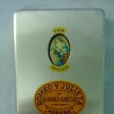 Cajas de Puros: ROMEO Y JULIETA HABANA CAJA PUROS ALUMINIO. Lote 53449065